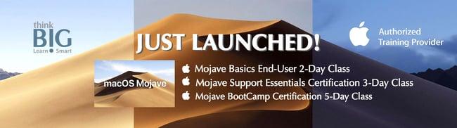 Apple Mojave Launch Banner