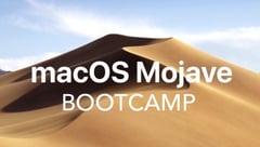 macOS Mojave Bootcamp Logo