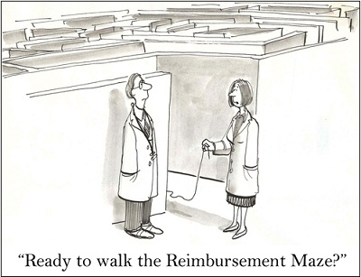 monitoring physician reimbursement for underpayments in radiology