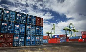 Overseas ocean freight containers
