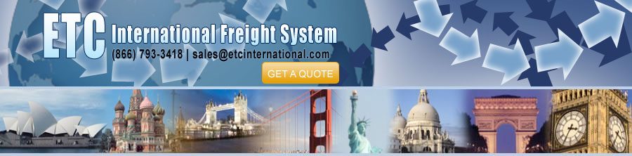 Overseas, international, shipping Freight