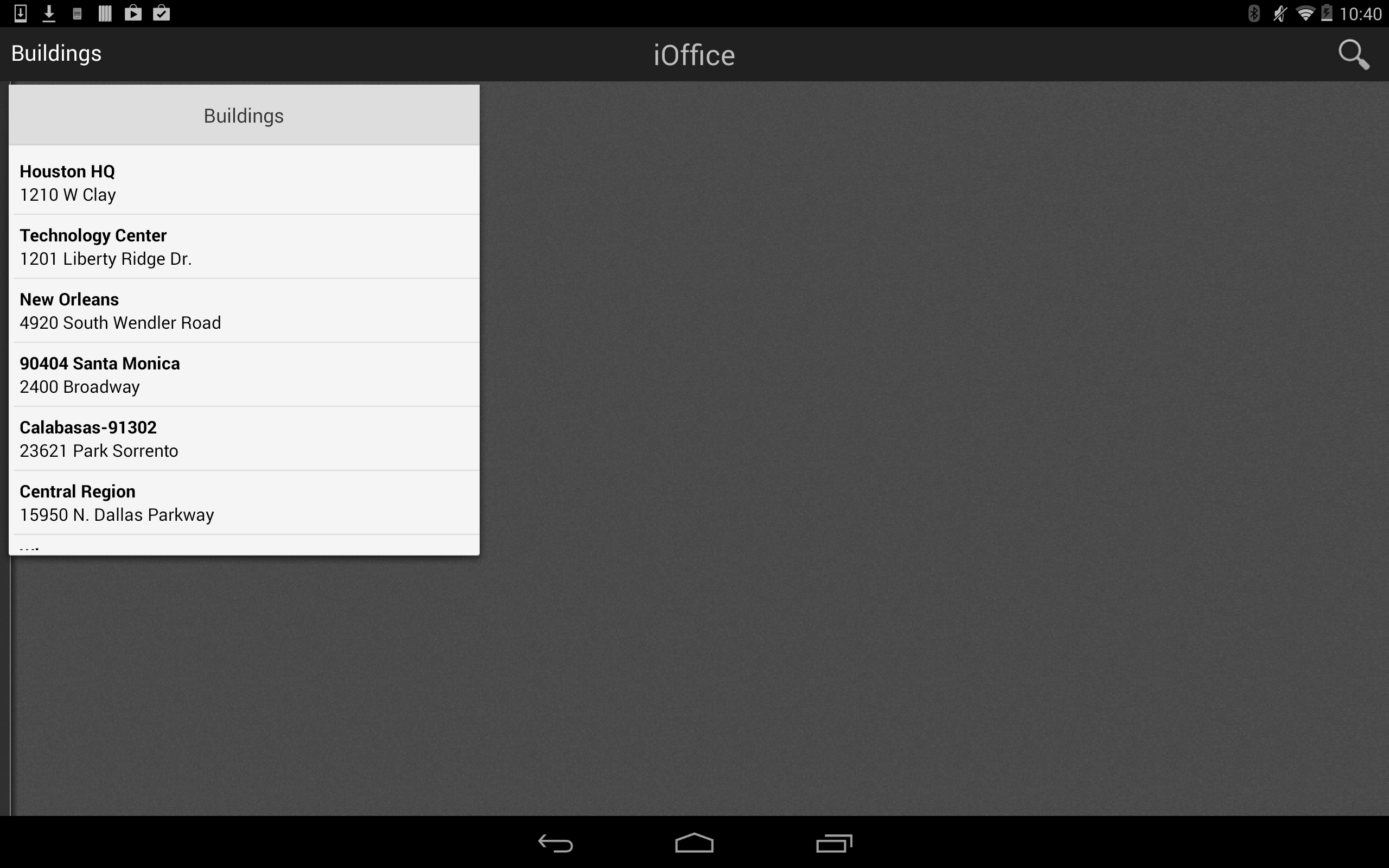 iOffice Space Manager Login
