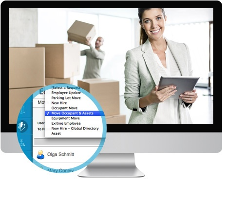 Move Module  - Facilities Management Software