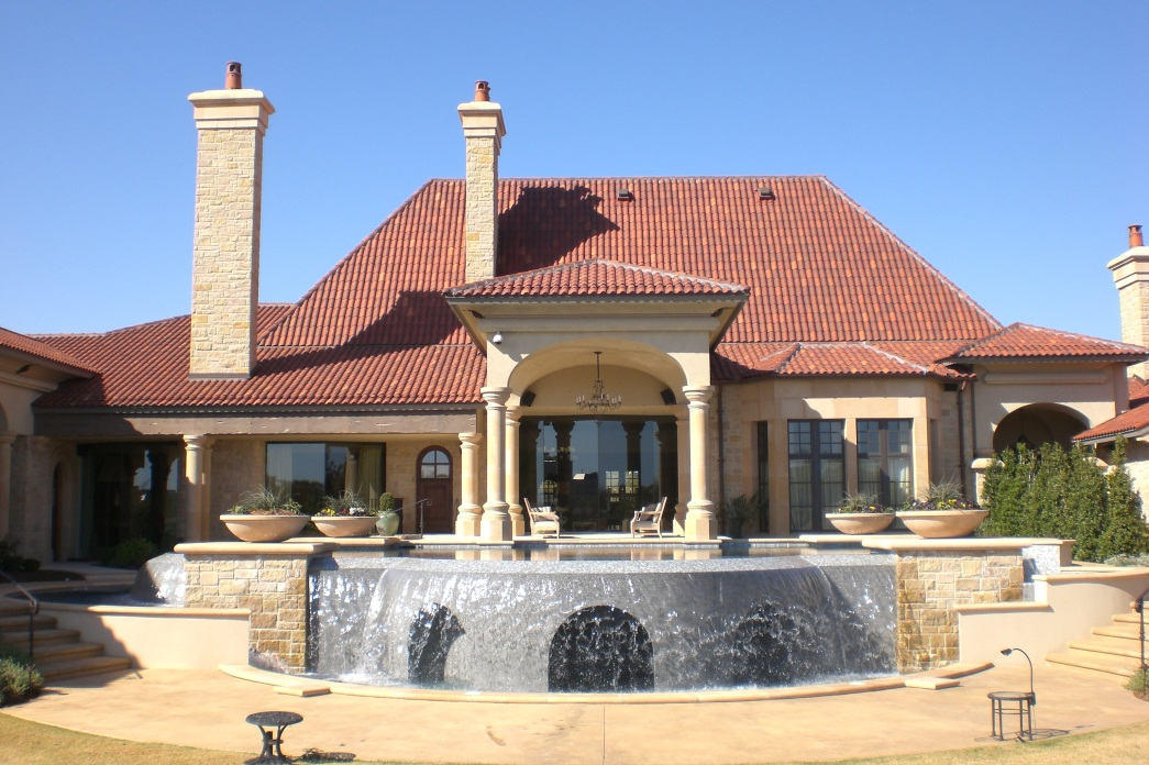 should you include a waterfall in your swimming pool design