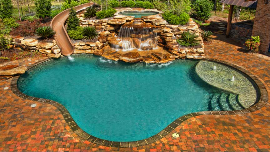 Gunite Swimming Pool Designs - Home Design Ideas