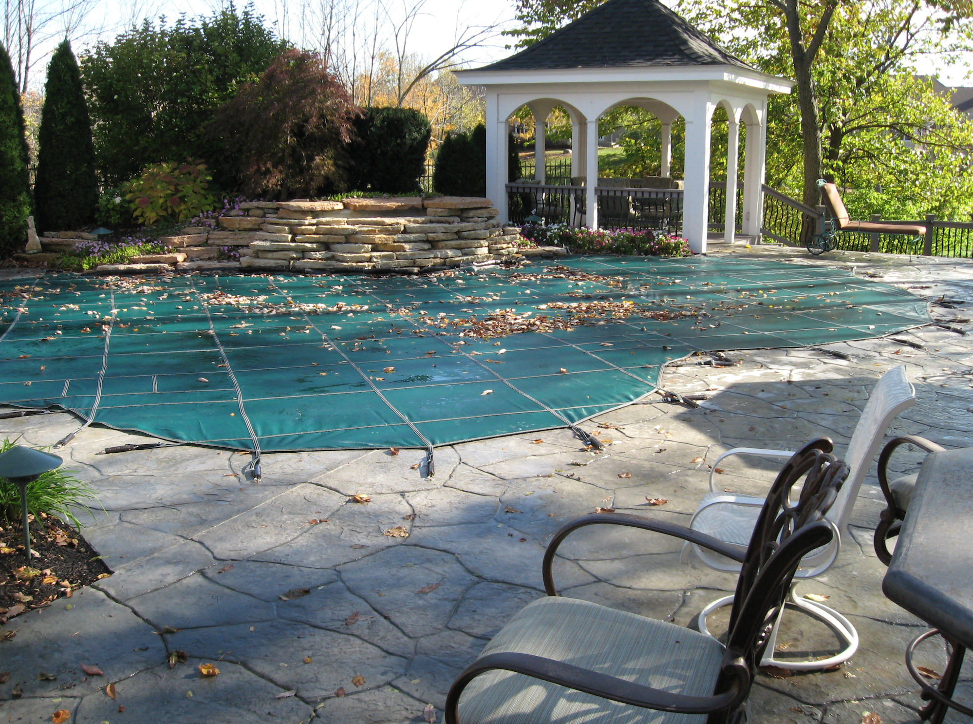 is there something i need to do to my pool cover in the winter