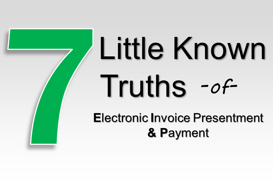 electronic invoice presentment and payment cedar blog