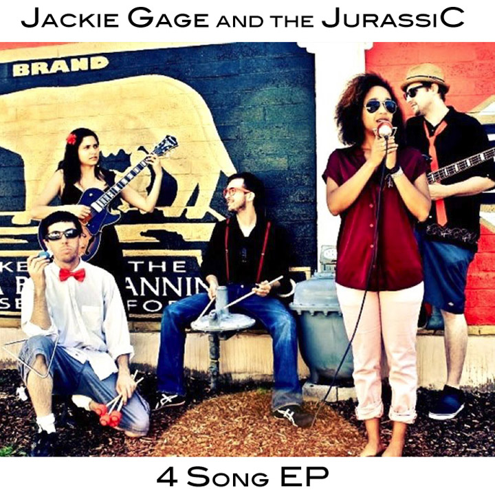 Jackie Gage and the JurassiC Album Cover