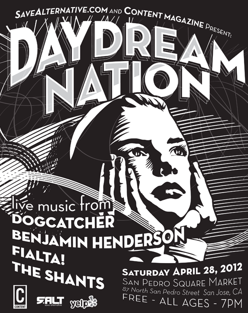 daydream nation live alternative music downtown san jose