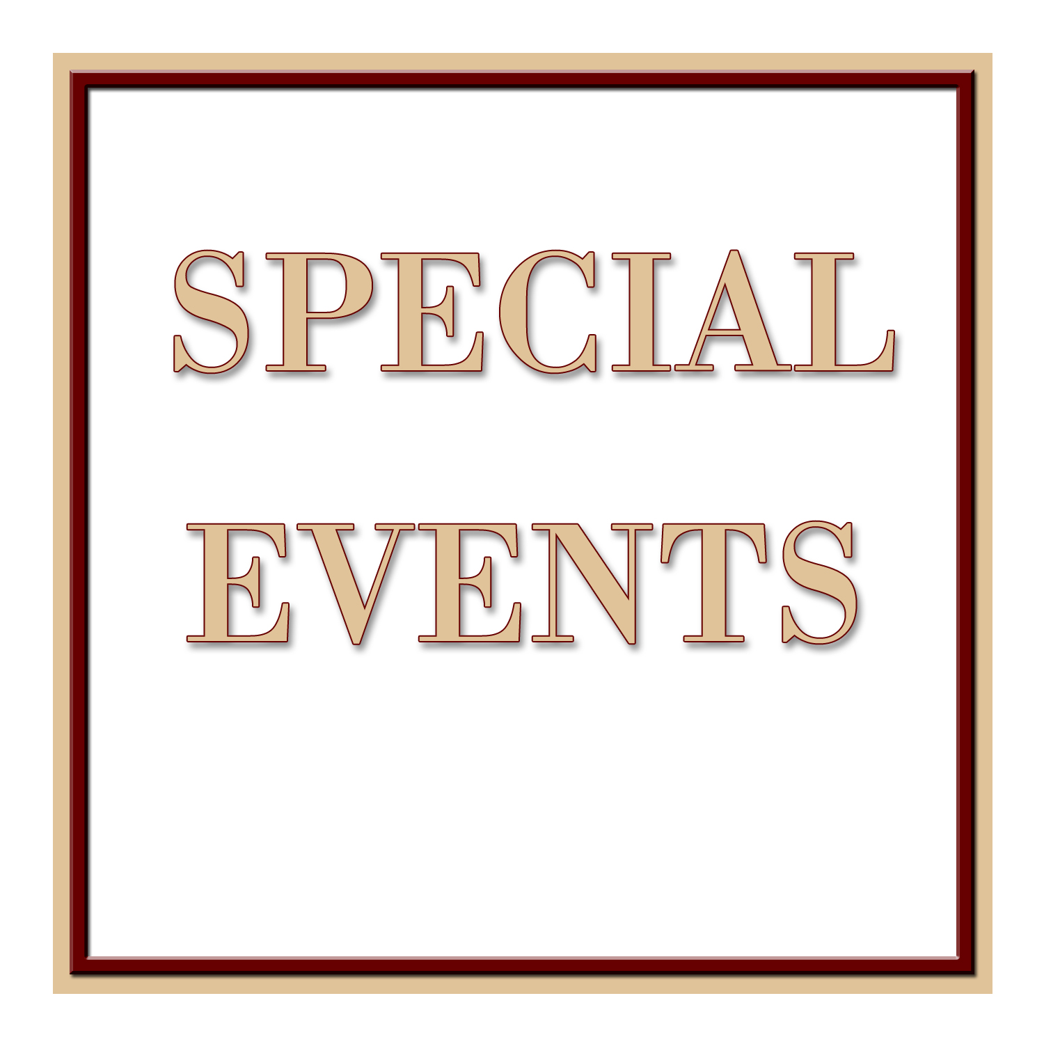 SPSM Special Events Slide tan