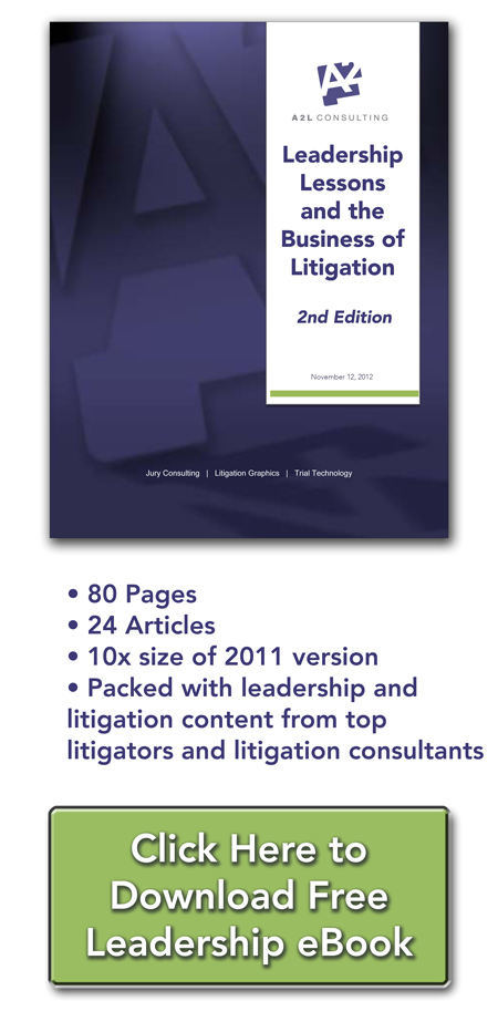 leadership lessons litigation law firms litigation support