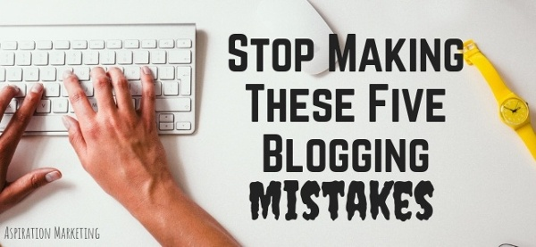 Avoid These Five Deadly Sins of Blogging