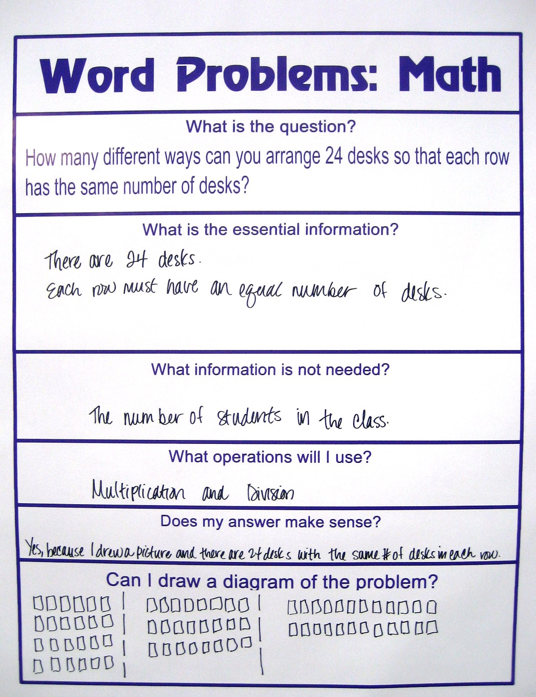 Grades K-5 Activity: Solving Word Problems