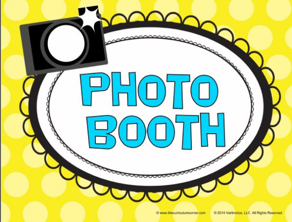 end of year photo booth k 12 classrooms. Black Bedroom Furniture Sets. Home Design Ideas