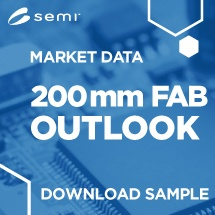 SEMI 200mm Fab Outlook | Download Sample