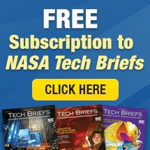 FREE Subscription to NASA Tech Briefs | Click Here
