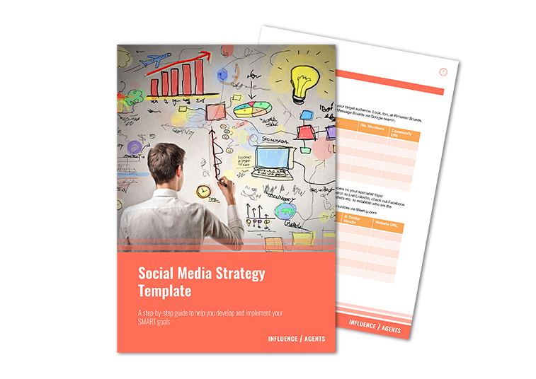 Social Media Strategy Template Pages