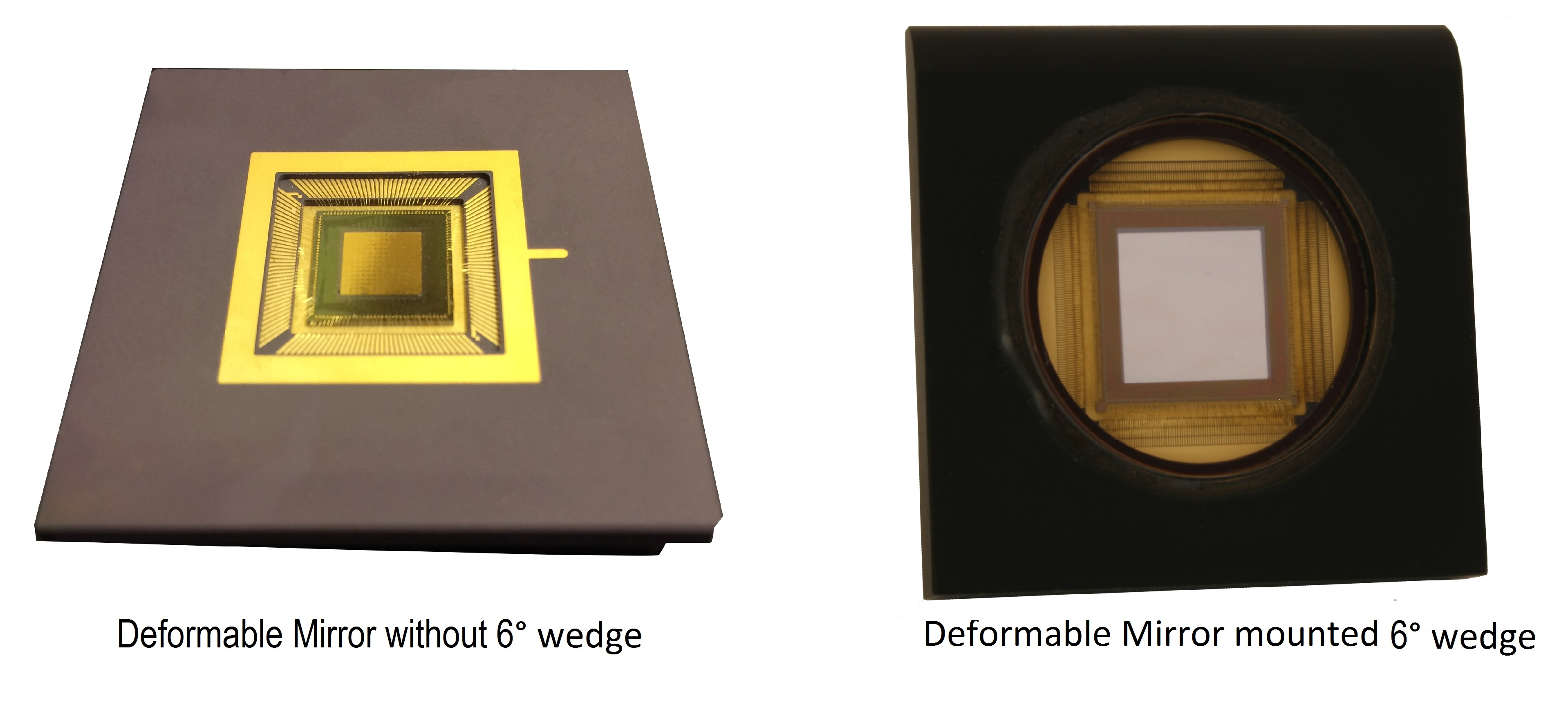 deformable mirrors, BMC,adaptive optics