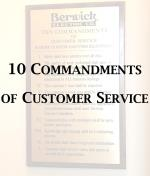 10 Commandments of Customer Service
