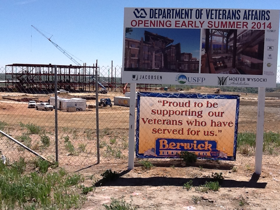 Image of COS VA Clinic under construction