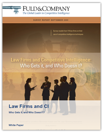 Law Firms and CI