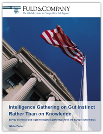 Intelligence Gathering on Gut Instinct