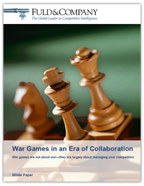 War Games in an Era of Collaboration