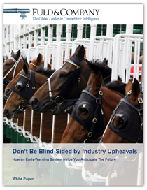 Don't Be Blind-Sided By Industry Upheavals