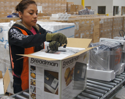 Value-Added Warehousing Services in California and on the West Coast