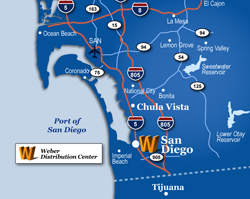 San Diego Warehouse, Trucking and Logistics Services