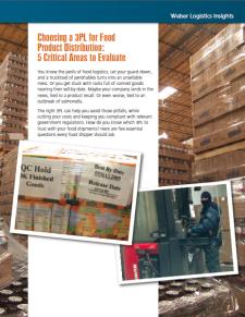 food-grade warehouse