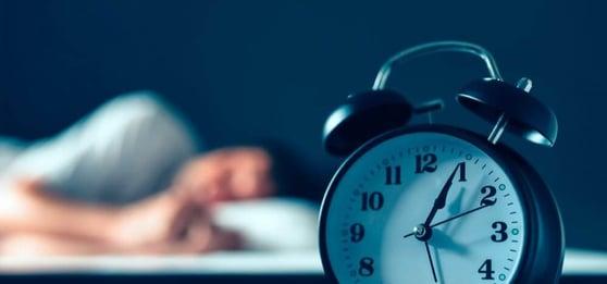 Sleep with alarm clock