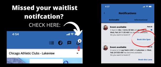 waitlist notification