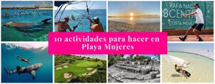 10 actividades para hacer en Playa Mujeres