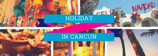 Festeja fin de año en Cancún