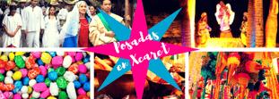 Celebra las posadas en Xcaret