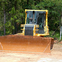 How to prepare land for a home site in Nassau County, FL