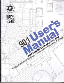ashrae standard 90.1 user's manual