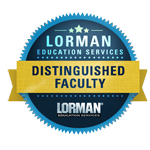 Jim Newman Lorman Education Services Distinguished Faculty