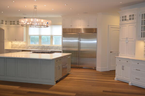 Original transitional kitchen by General Woodcraft