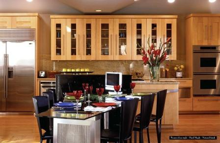 Hard maple cabinetry  contemporary design resized 600
