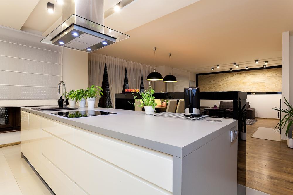 Urban apartment kitchen