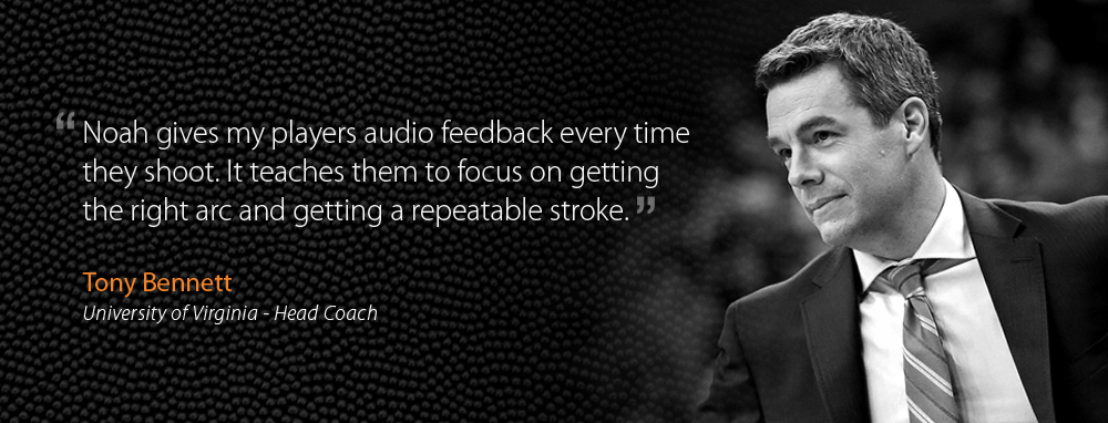 Virginia Basketball Coach, Tony Bennett, speaks about the shooting the right arc with repeatable stroke