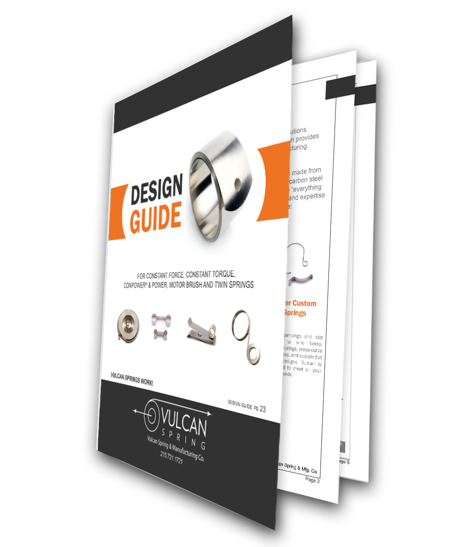 8 Steps To A Constant Force Spring Design