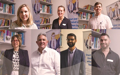 Meet our new trainees