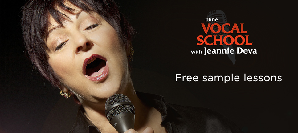 Free Singing Lessons with Jeannie Deva