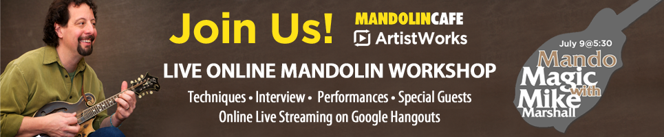 Sign up to save your spot at this incredible LIVE streaming mandolin event!