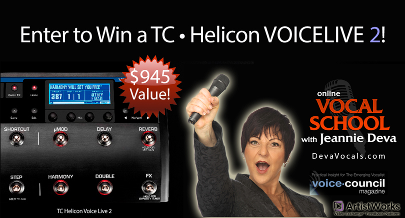 Big Vocal Contest Giveaway ($9...