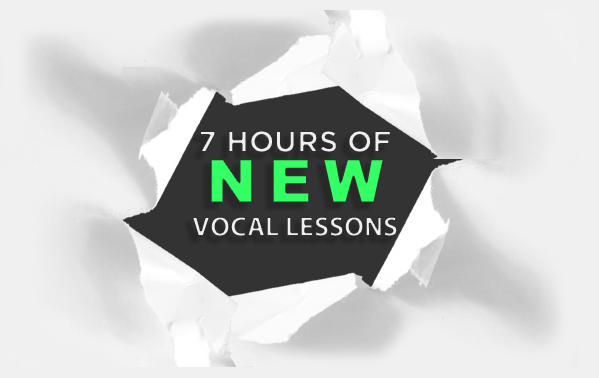 7 Hours of New Vocal Lessons