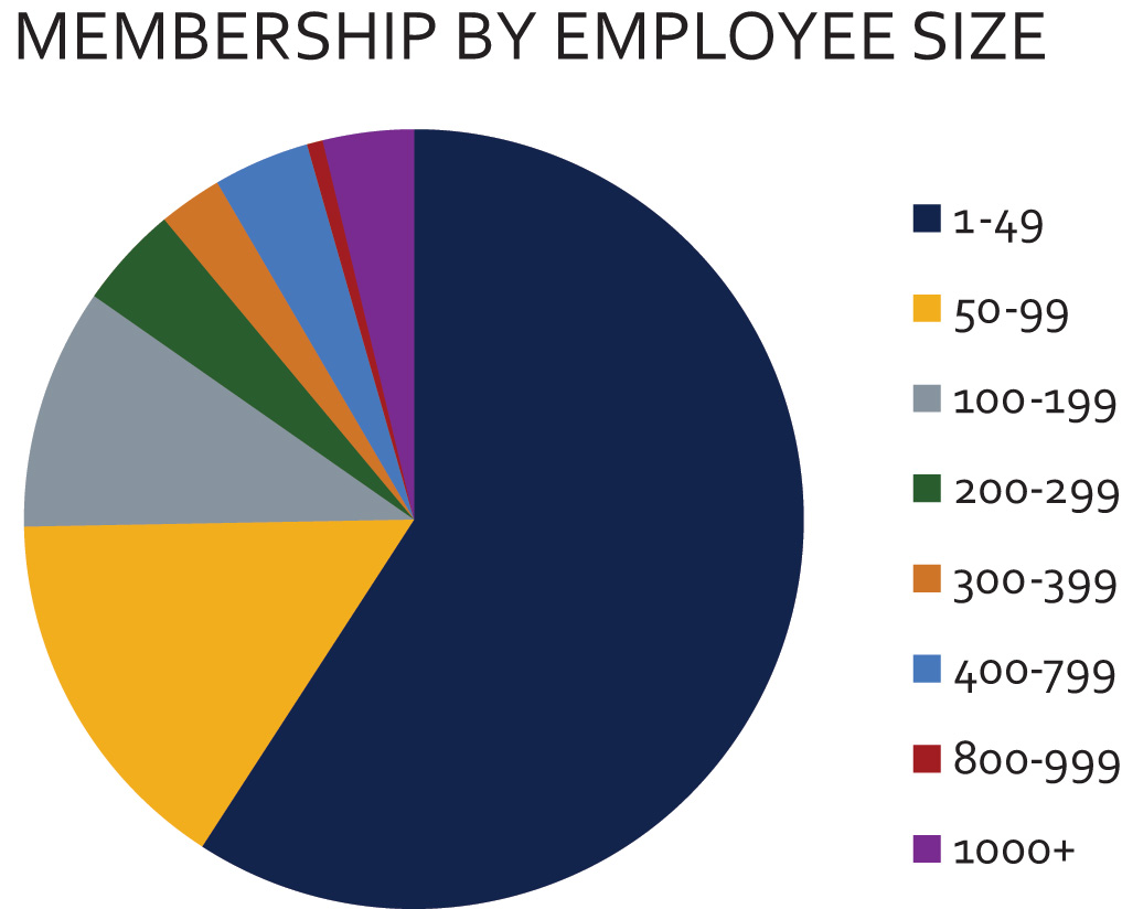 Member_Demographic_Chart_-_Company_Size_by_employees